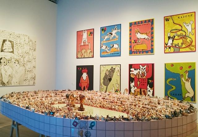 六本木クロッシング 森美術館 猫オリンピック