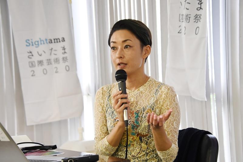 さいたま国際芸術祭 サーキュレーションさいたま 松田法子
