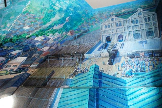 囲碁さくらぎ 大宮 壁画 さいたま