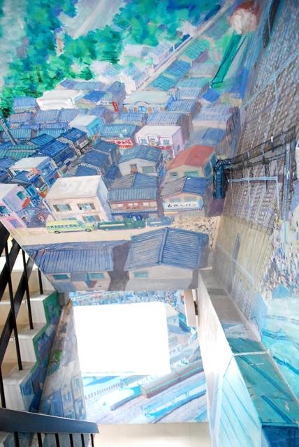 囲碁さくらぎ さくらぎ 壁画 名所 大宮