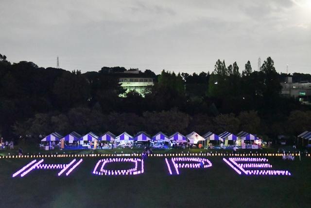 リレーフォーライフジャパン 2019 さいたま ルミナリエ