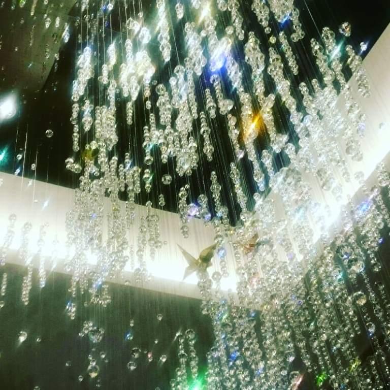 盆栽シャンデリア カンデオホテルズ 大宮