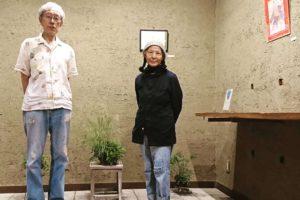 加藤文子 盆栽 カフェ&ギャラリー温々 ぬくぬく