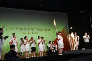 さいたま市 東京2020オリンピック聖火リレー セレブレーション さいたま新都心 聖火リレー